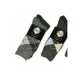 60 of Men's 3 Pack Casual Print Dress Socks
