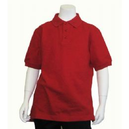24 of Boys School Uniform Polo Shirt