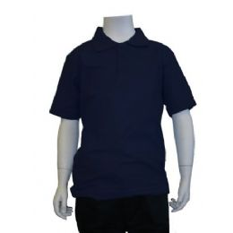 12 of Boys School Uniform Polo Shirt