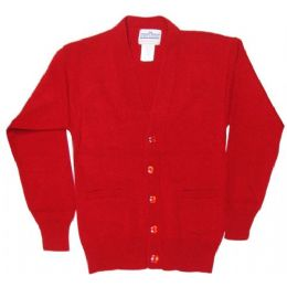 12 of School Uniform Cardigan