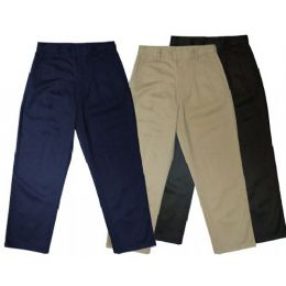 24 of Boys 10 - 20 Husky School Twill Pant