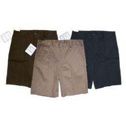 24 of Boys Husky School Shorts