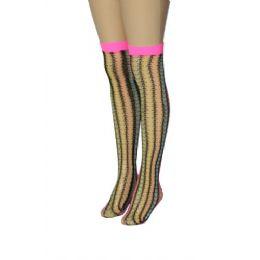 36 of Ladies Knee High Neon Colors
