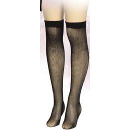 36 of Ladies Black Printed Knee High