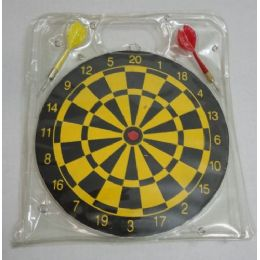 "80 of 9.5"" Dart Board With 2 Darts"
