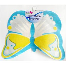 48 of NoN-Slip Butterfly Shape Bath Mat