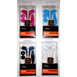 24 of IN-Ear Stereo Hands Free With IN-Line Microphone