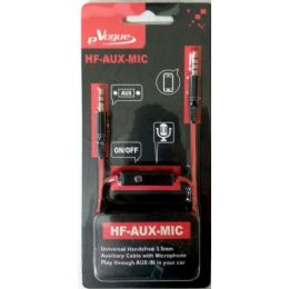 12 of Stereo Handsfree 3.5mm AuX-Cable With Microphone And Phone Answer Button