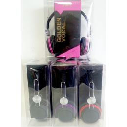 12 of Golden Vocal Overhead Stereo Earpiece With Microphone