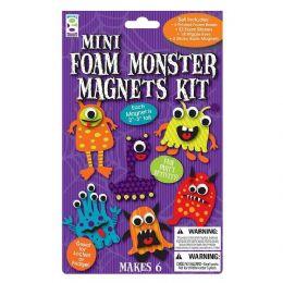 96 of Mini Foam Monster Magnets Kit