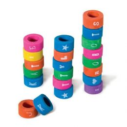 1000 of Alphabet Eraser Grip
