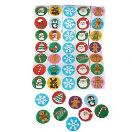 48 of Holiday Sticker Roll