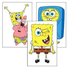 180 of Spongebob Squarepants Temporary Tattoo Pack