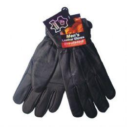 24 of Winter Glove Genuine Leather Men