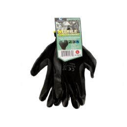 36 of Nitrile Coated Gloves