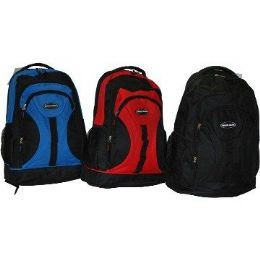 "24 of 18"" HeavY-Duty BackpacK-Red Only"