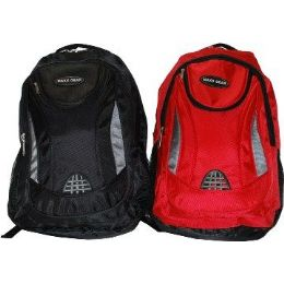 "24 of 19"" Ballistic Nylon BackpacK-Red Only"