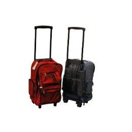 "24 of 19"" Rolling BackpacK-Red Only"