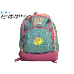 12 of Licenced Barbie Backpack