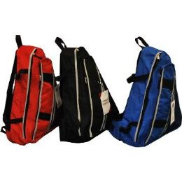24 of One Strap BackpacK-Blue