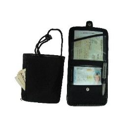 24 of Id & Boarding Pass Holder W/ Snap Closure