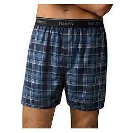 24 of Hanes Men's 3pk. Color Boxer Shorts