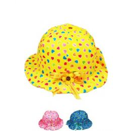 72 of Kid Summer Hat Mix Color With Hearts