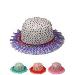 72 of Kid Summer Hat Mix Color