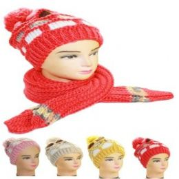 36 of Woman Winter Hat And Scarf