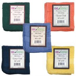 144 of Towel Hand Terry 12x12 2pk