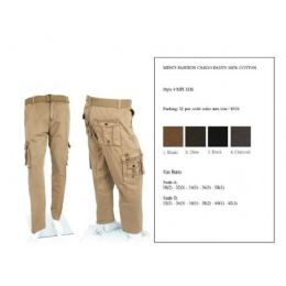 12 of Men's Fashion Cargo Pants 100% Scale B Size Only