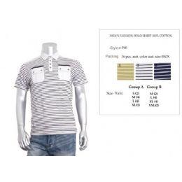 48 of Men's Fashion Polo Shirt Size Chart B Only