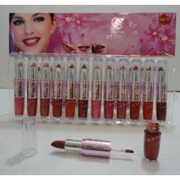 144 of Lip Stick/lip Gloss Combo