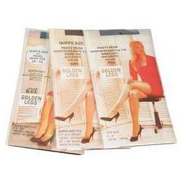 72 of Ladies Golden Legs Sheer Pantyhose In Beige Queen Size
