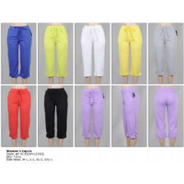 72 of Women's Terry Capri Pants