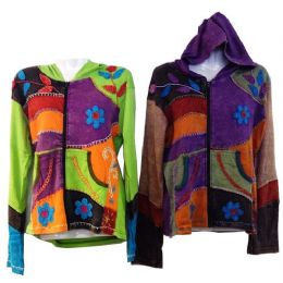 5 of Nepal Handmade Cotton Jackets With Hood