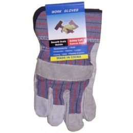 60 of Closeout Suede Working Gloves