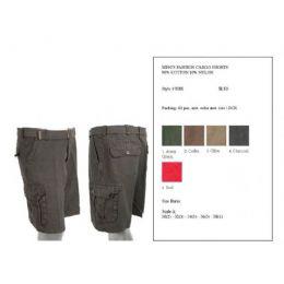 60 of Mens Summer Cargo Shorts
