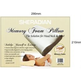 6 of Memory Foam Contour Pillow