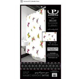12 of Butterflies Delxue Shower Curtain