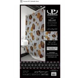 12 of Seashells Deluxe Shower Curtain