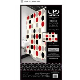 12 of Twister Circles Deluxe Shower Curtain