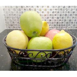 12 of Wholesale Black Metal Fruit Basket