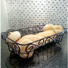 12 of Wholesale Black Metal Bread Basket
