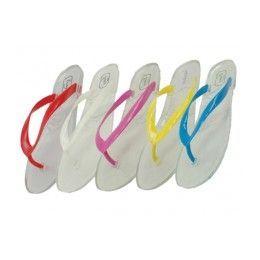 36 of Women's Jelly Flip Flops *asst. Color