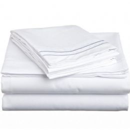 12 of King Size 2 Line Sheet Sets Assorted Colors
