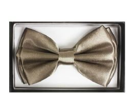 72 of Dark Cream Bow Tie 017
