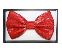48 of Red Sequin Bow Tie 020