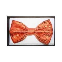 48 of Orange Sequin Bow Tie 024