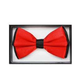 48 of Black And Red Bow Tie 030